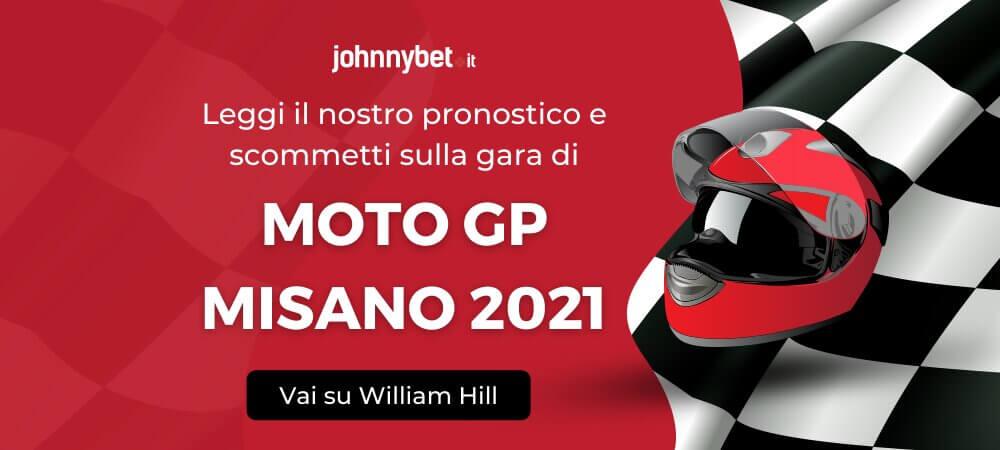 Pronostico Moto GP Misano 2021