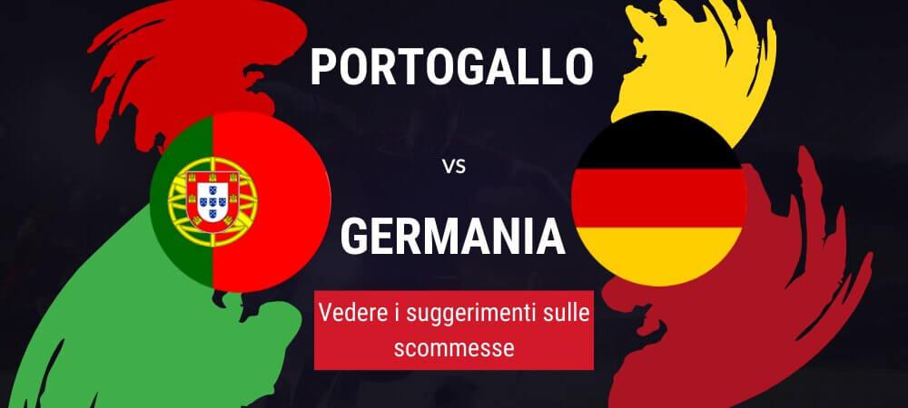 Pronostico Portogallo - Germania Risultato Esatto