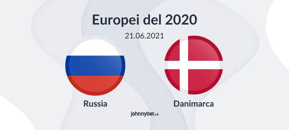 Pronostico Russia - Danimarca risultato esatto