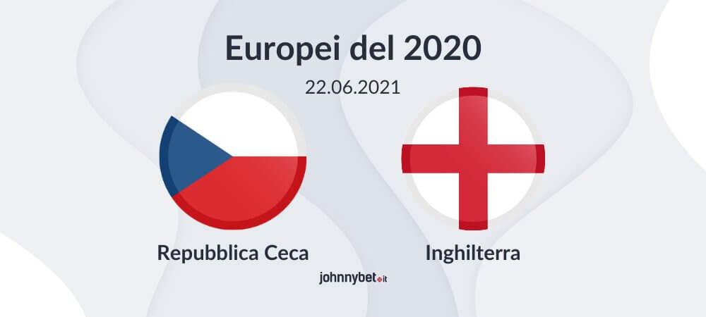 Pronostico Repubblica Ceca - Inghilterra risultato esatto