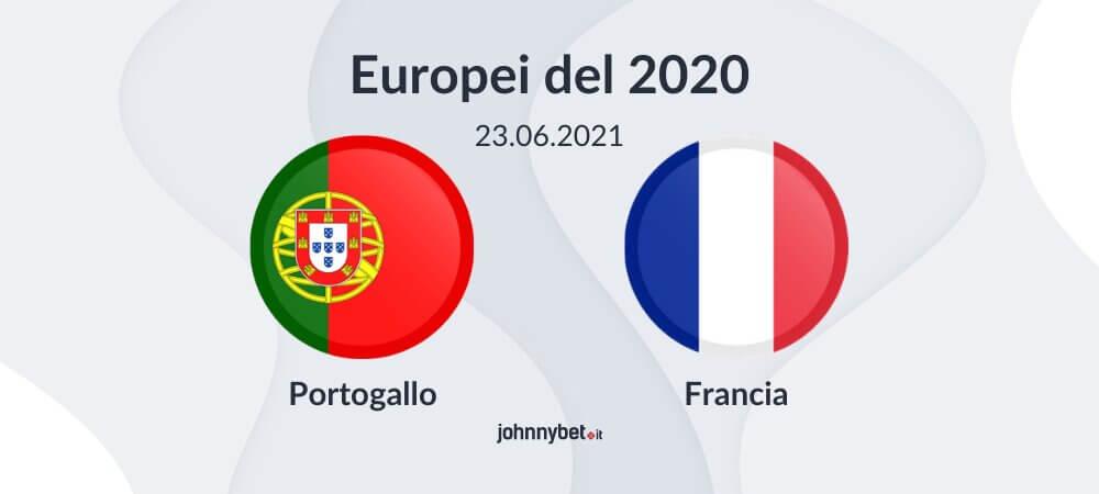 Pronostico Portogallo - Francia risultato esatto