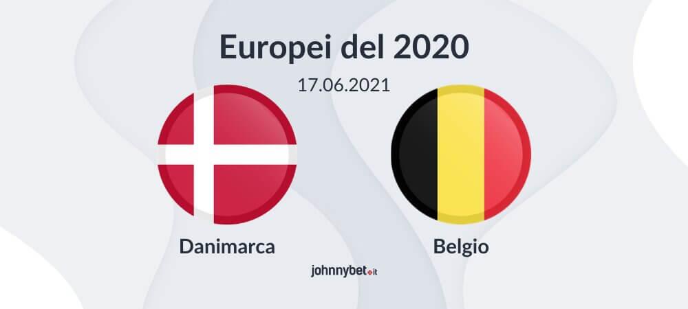 Pronostico Danimarca - Belgio risultato esatto