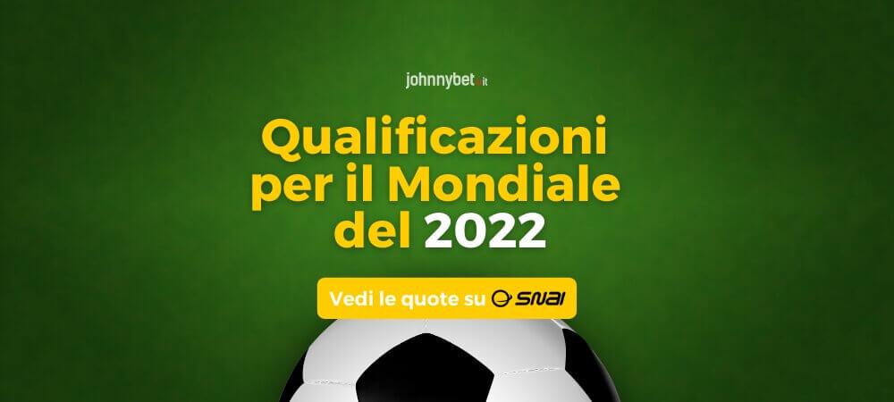 Qualificazioni per il Mondiale del 2022 Pronostici