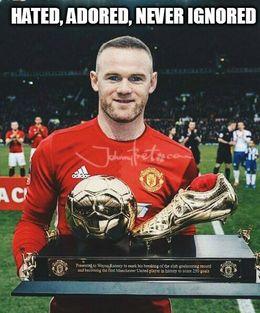 Rooney never ignored memes