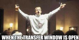 The transfer window memes