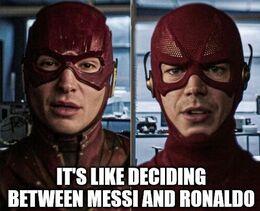 Deciding between memes