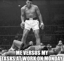 Tasks at work memes