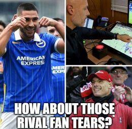 Rival fan memes