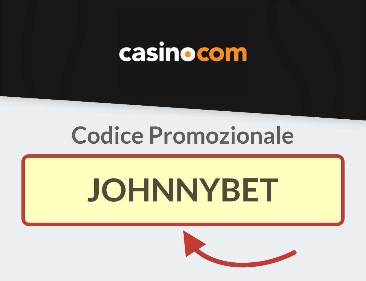 Codice Bonus Casino.com