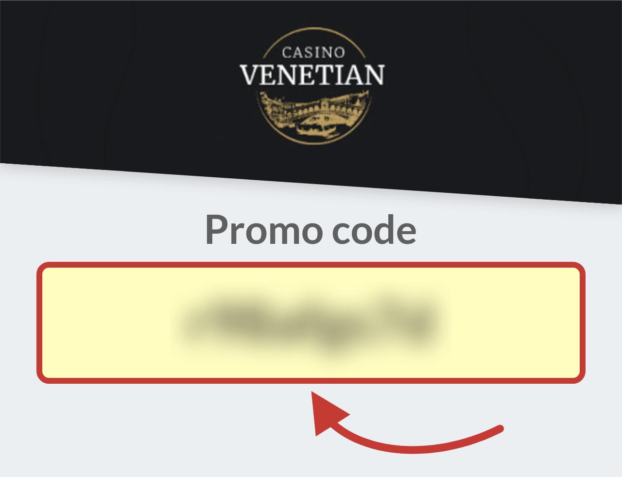 Promo Code Casino Venetian