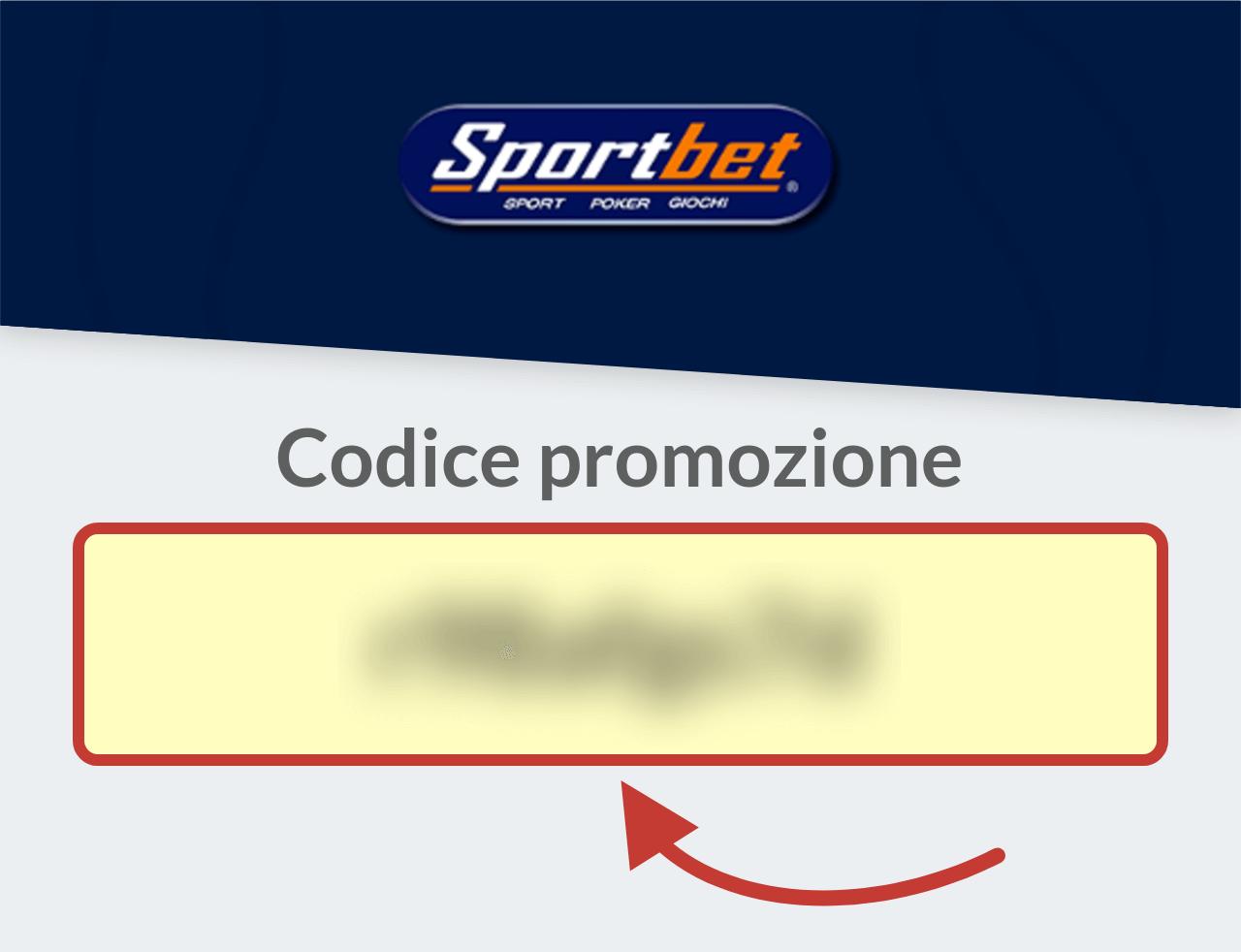 Codice Promozione Sportbet