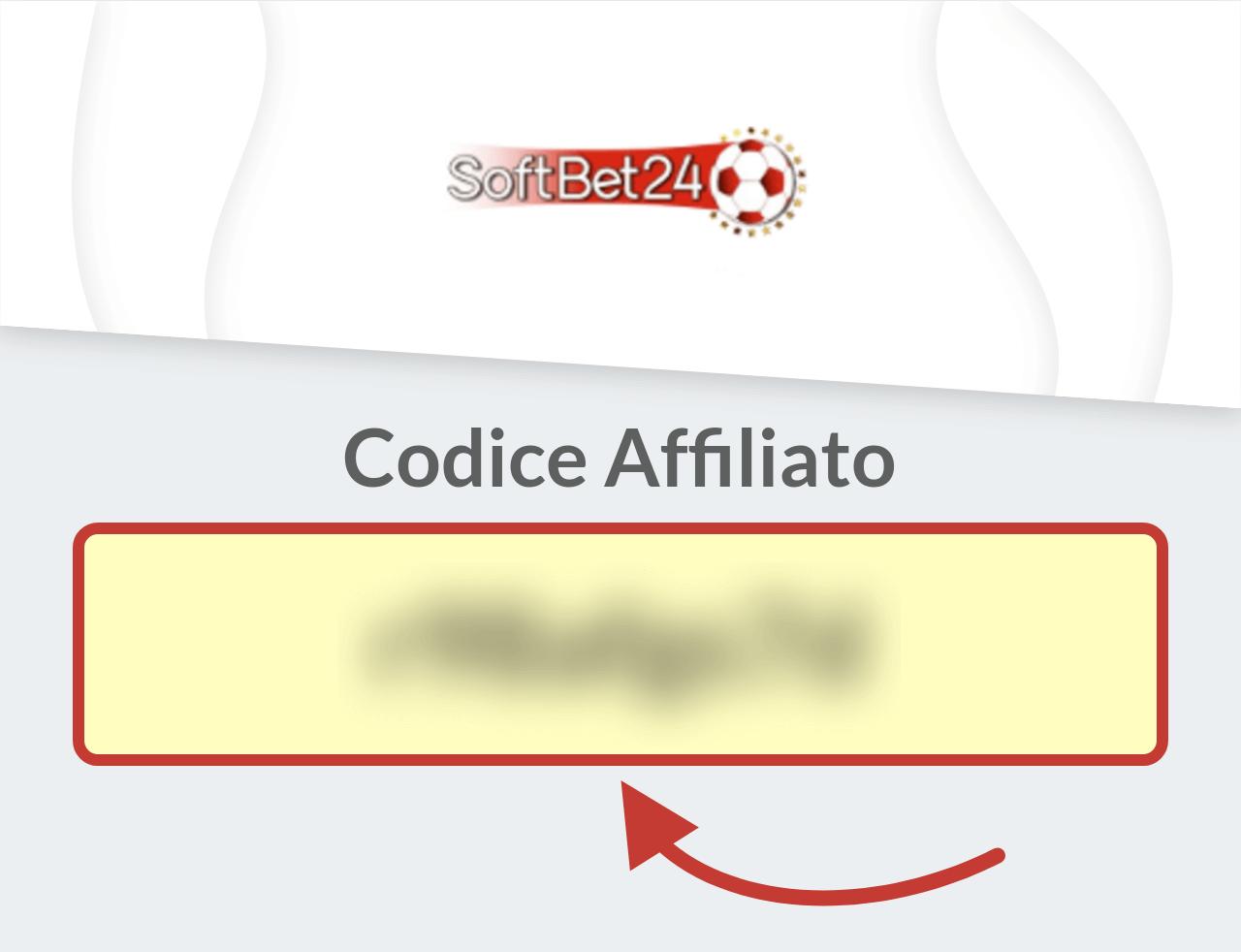 Codice Affiliato SoftBet24