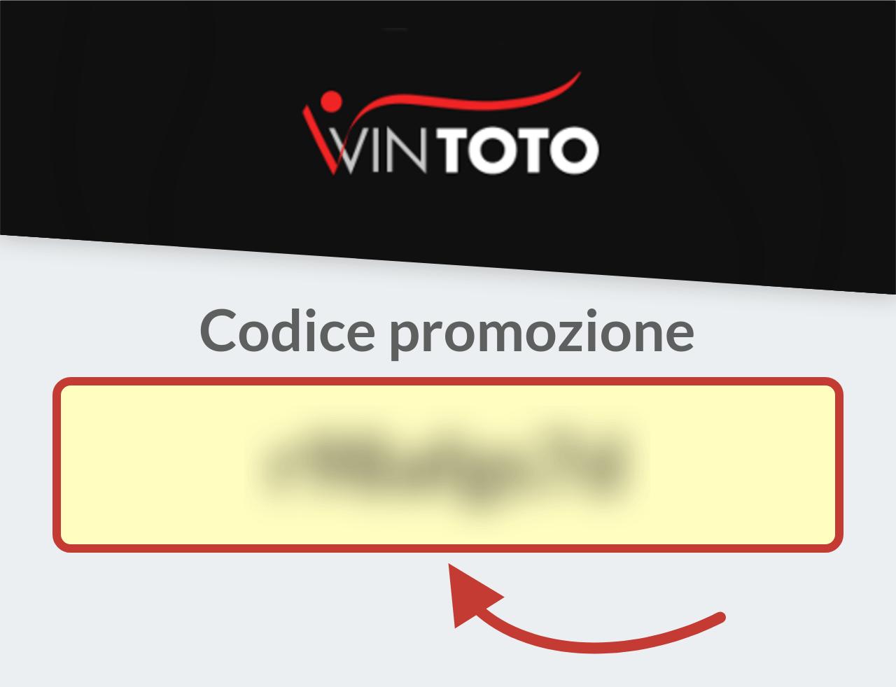 Codice Promozione Wintoto