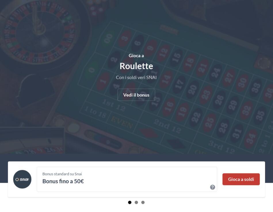 Roulette Con Soldi Veri