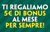 PaddyPower Bonus 5€ Scommesse
